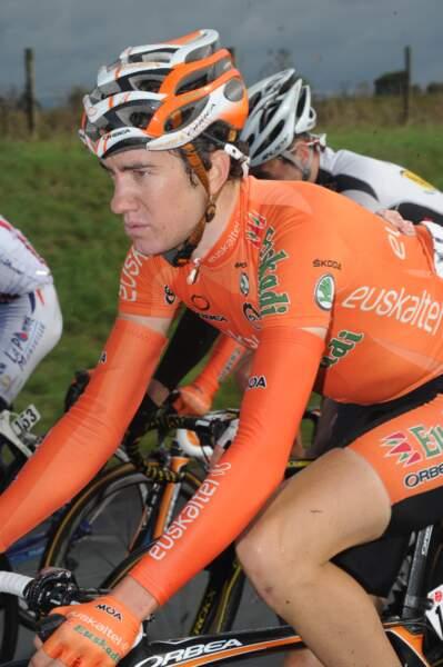 Romain Sicard, exilé du côté d'Euskatel, reste lui-aussi un espoir du cyclisme tricolore