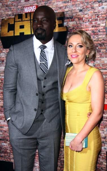 L'acteur était accompagné de son épouse Iva à la soirée de lancement de la série