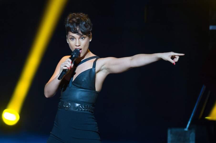 Alicia Keys montre la direction en 2013