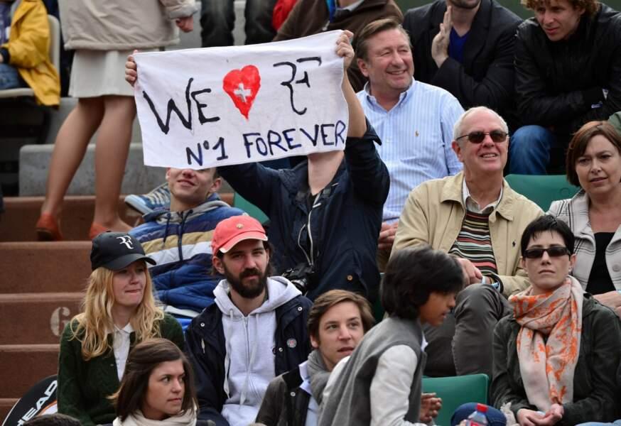 Et comme d'habitude, Roger a la cote à Roland Garros !