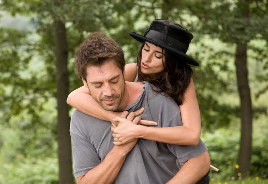 En 2008, Woody Allen réunit Javier Bardem et Penélope Cruz dans Vicky Cristina Barcelona.