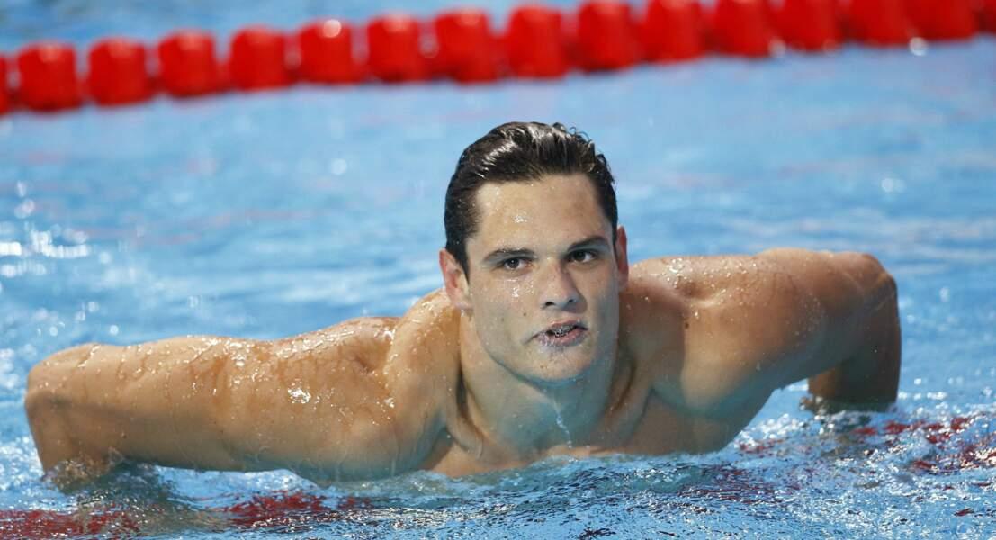 Le nageur Florent Manaudou a décroché la médaille d'or à Londres 2012 puis la médaille d'argent à Rio de 2016