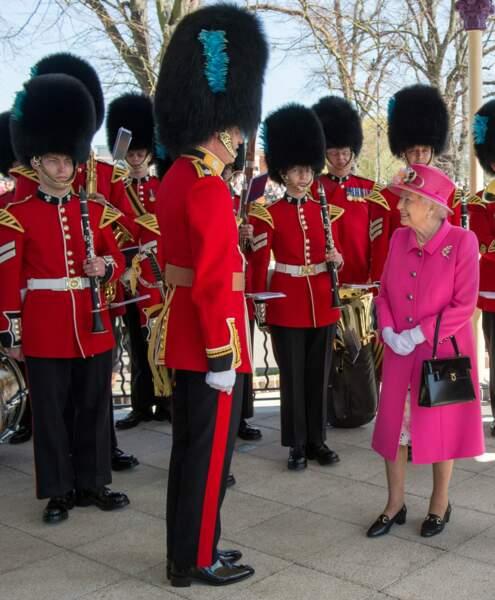 Un salut aux Horse Guards pour la forme