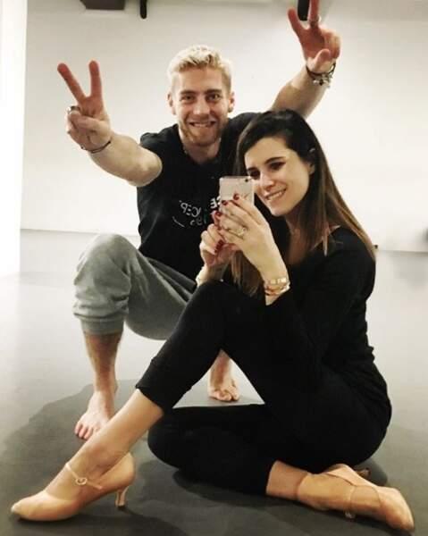 Il a aussi dansé aux côtés de l'animatrice Karine Ferri, que l'on retrouve cette saison dans la Red Room