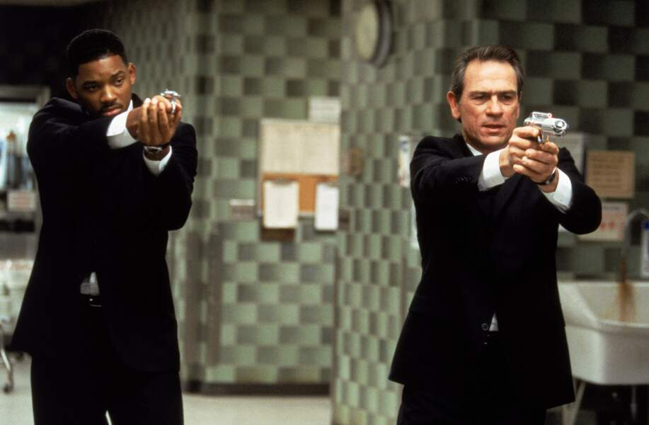 1997 - Men In Black | Will Smith et Tommy Lee Jones.