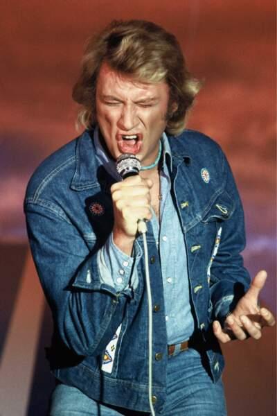 1980 : Johnny n'avait pas le blues... il avait le blue-jeans, nuance