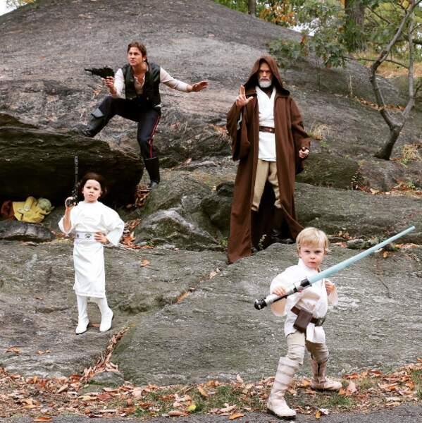 Et enfin, la classe internationale avec cette photo inspirée de l'univers Star Wars