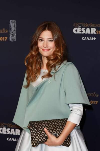 Pleine d'élégance lors de la cérémonie des César 2017