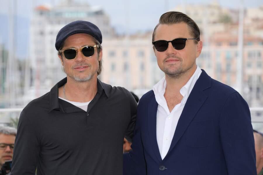 Les deux stars du film posent pour les photographes