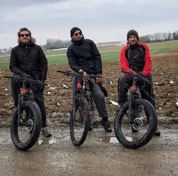 Rien de tel qu'une rando à vélo entre copains pour se remonter le moral.
