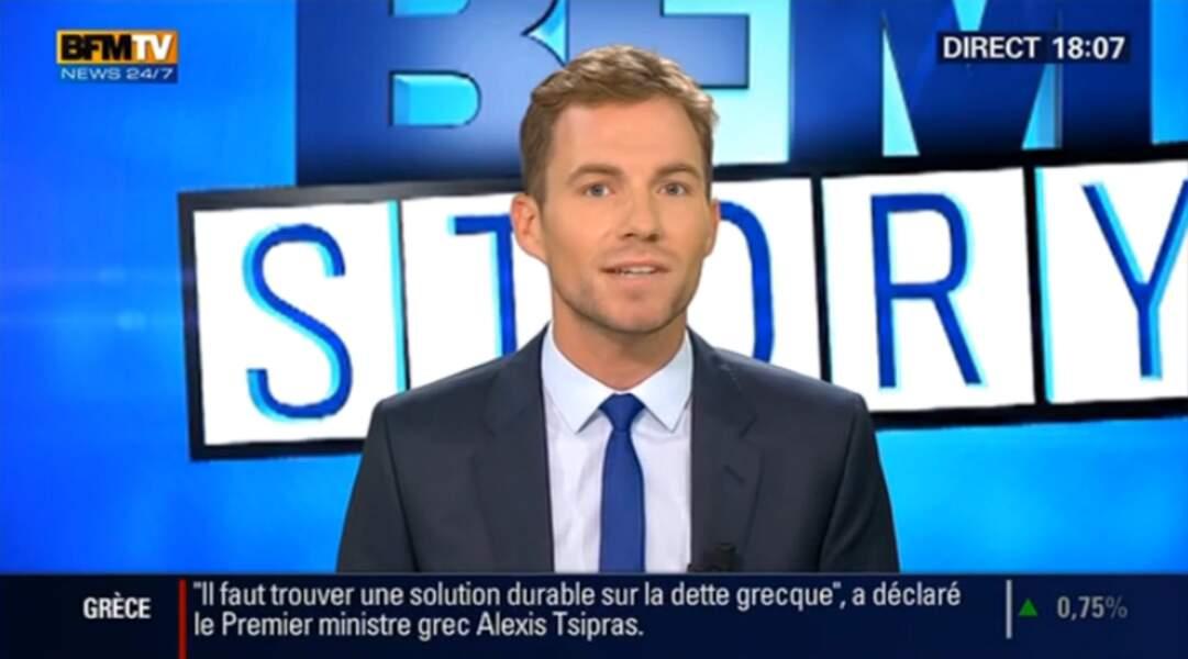François Gapihan présente BFM Story le vendredi, samedi et dimanche soir