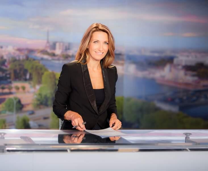 Depuis 3 ans, Anne-Claire Coudray est à la présentation du 20h de TF1 le week-end