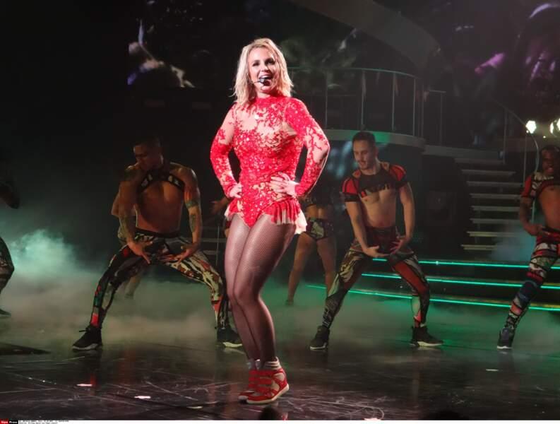 Devenue une star planétaire, elle donne en ce moment une série de concerts à Las Vegas.
