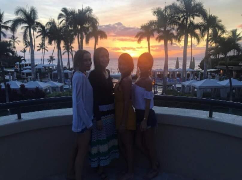 Cap sur Hawaii avec ses copines