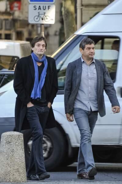 Pierre et son producteur Pascal Guillaume