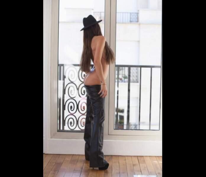 Pantalon ou cuissardes? Le mystère reste entier