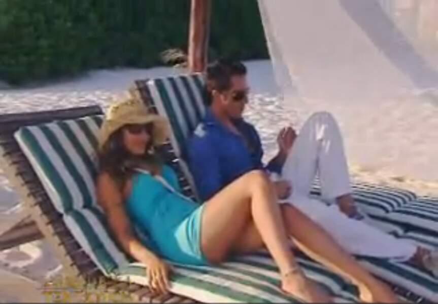 Mais quelques années plus tôt, elle était à l'antenne en qualité de tentatrice dans L'ile de la Tentation (TF1)
