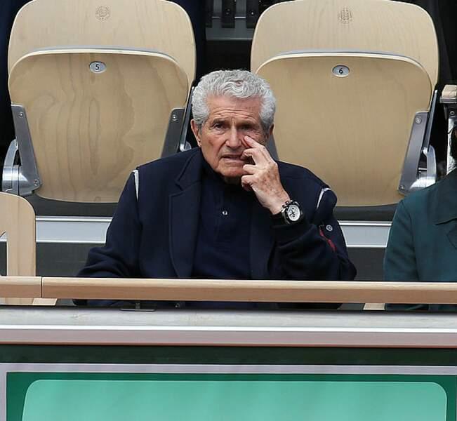 Claude Lelouch, lui, est concentré sur le match !