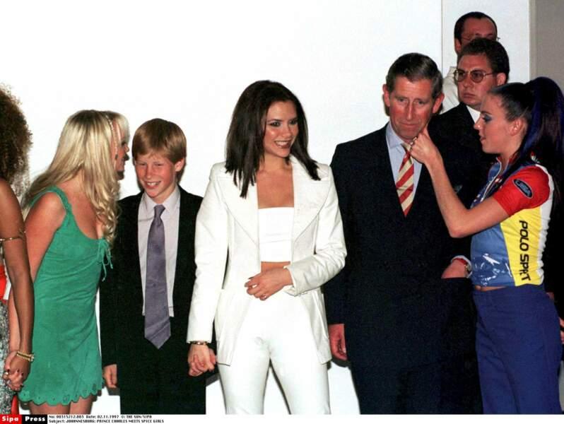 Les Spice Girls, premier émoi du jeune prince qui collectionnait leurs posters dans sa chambre. Si, si !