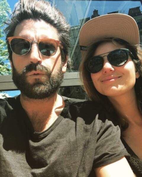L'acteur Grégoire Ludig et la présentatrice télé Marie Portolano.