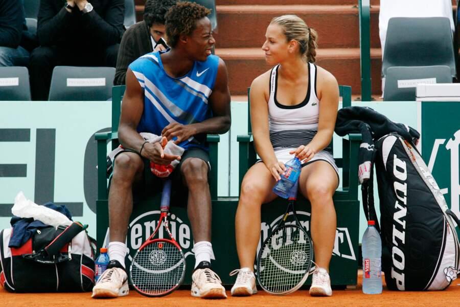 En 2008, Gaël Monfils vit une jolie idylle de quelques semaines avec Dominika Cibulkova