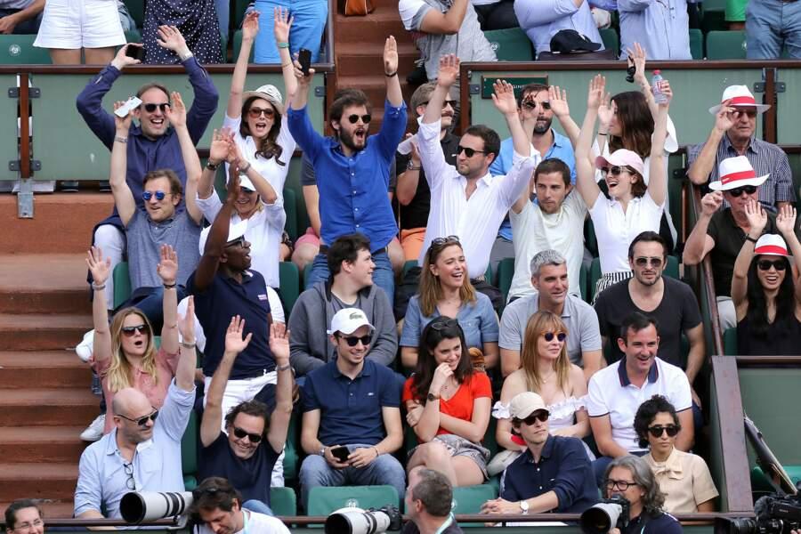 Frédérique Bel, Lucien Jean-Baptiste ou encore Sandrine Quétier étaient à fond à Roland-Garros ce 2 juin