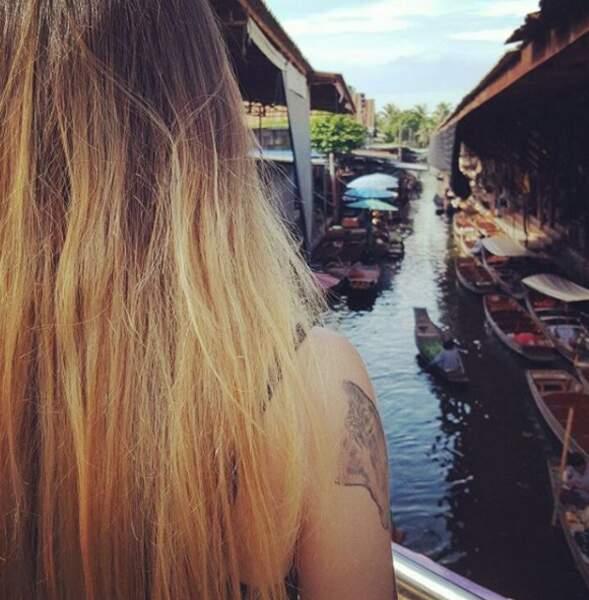 Petit détour par le marché flottant de Bangkok