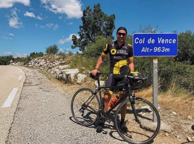 Amir, lui, a tenté le cycliste bicolore dans les Alpes-Maritimes.