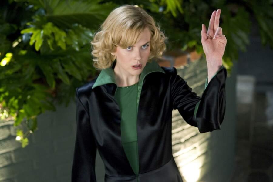 En 2005, elle reprend sur grand écran le rôle d'Elisabeth Montgomery dans Ma sorcière bien aimée