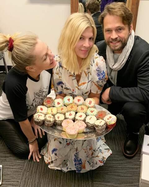 Et n'oublient pas de fêter l'anniversaire de Tori Spelling !