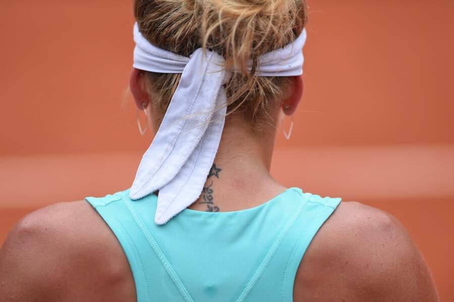 Le tatouage de Timea Bacsinszky est plus discret