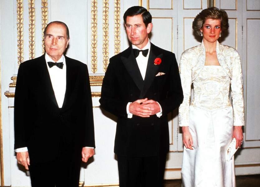C'est marié et avec Diana qu'il revient en novembre 1988 à Paris