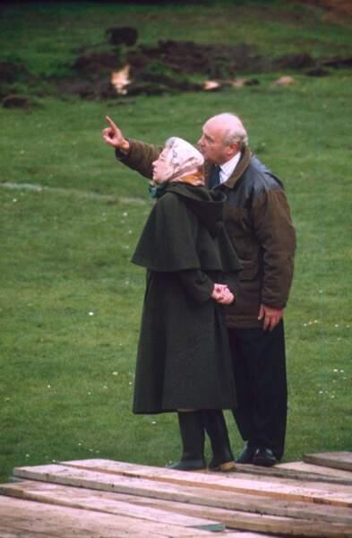 En 1992, Andrew et Charles divorcent…