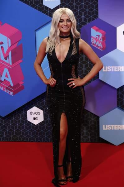 La chanteuse Bebe Rexha