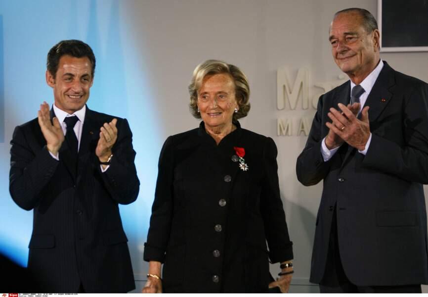 Bernadette reçoit la Légion d'honneur en 2009