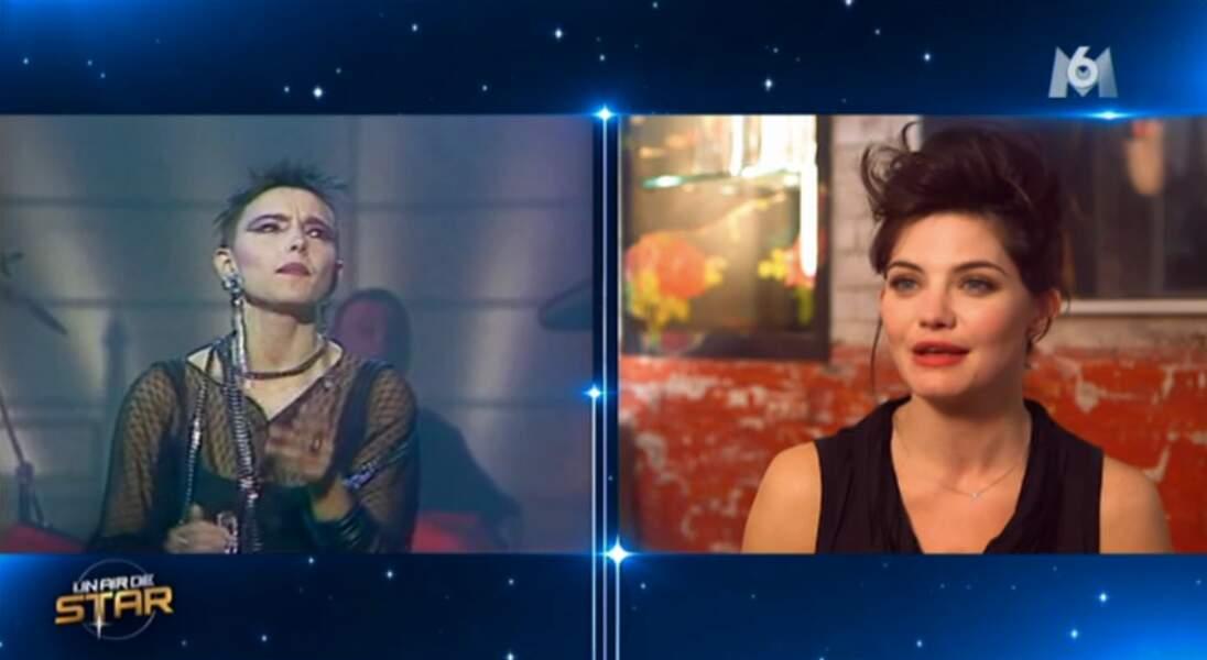 Et on termine avec Delphine Chanéac. Après Jeanne Mas, qui va-t-elle imiter ?