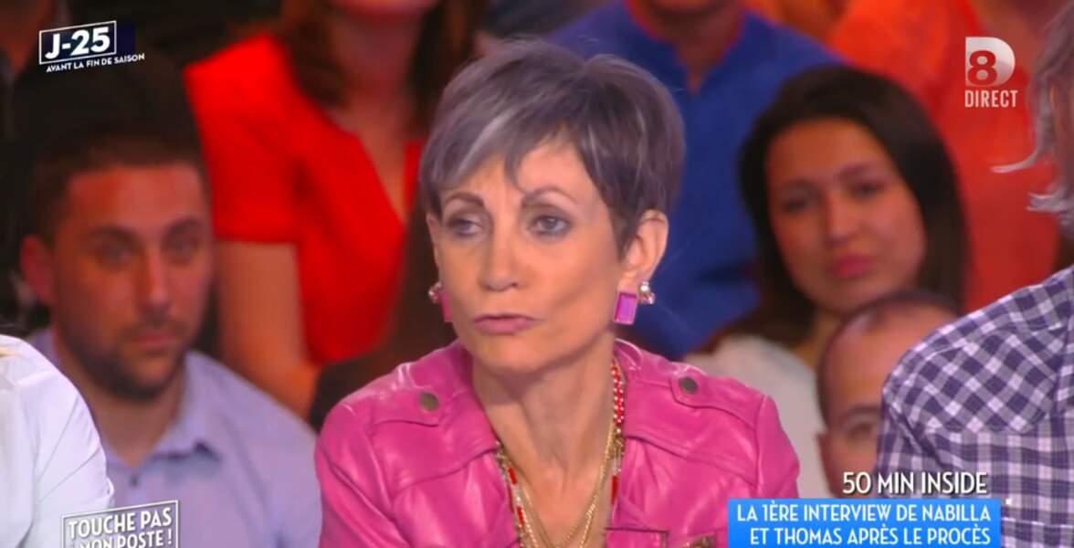 La veste rose d'Isabelle Morini-Bosc, vous validez ?