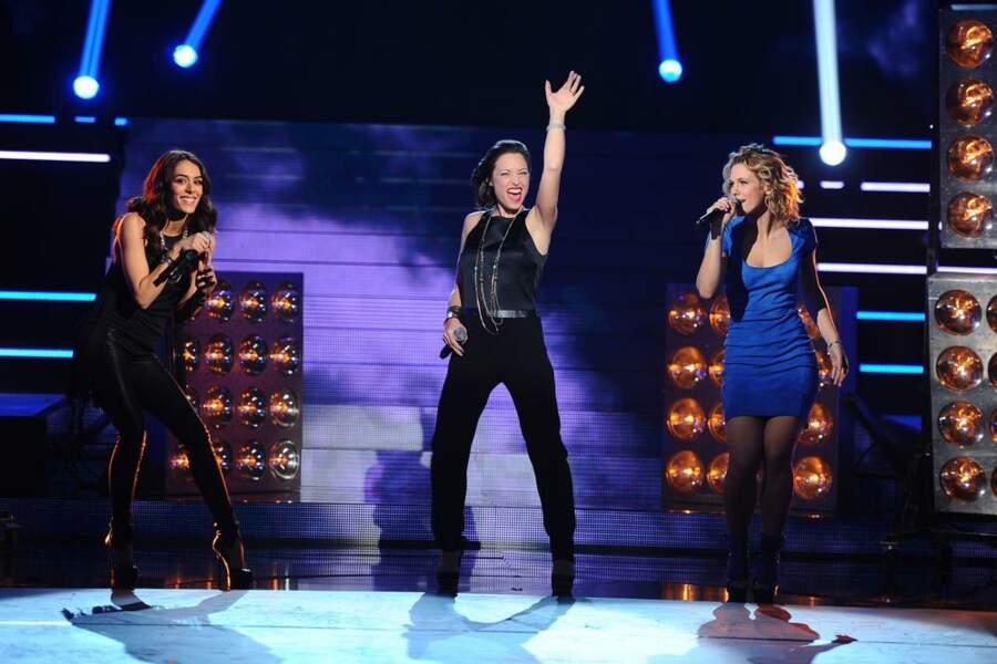 Sofia Essaïdi, Natasha Si Pier et Lorie ont assuré le show