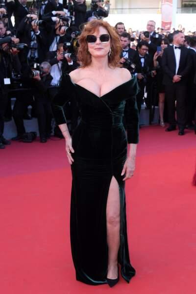 Même en robe de soirée, Susan Sarandon est rock'n'roll !