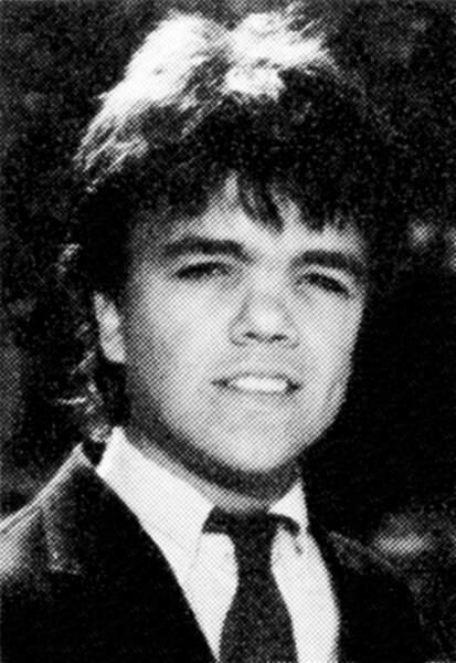 Peter Dinklage en 1987