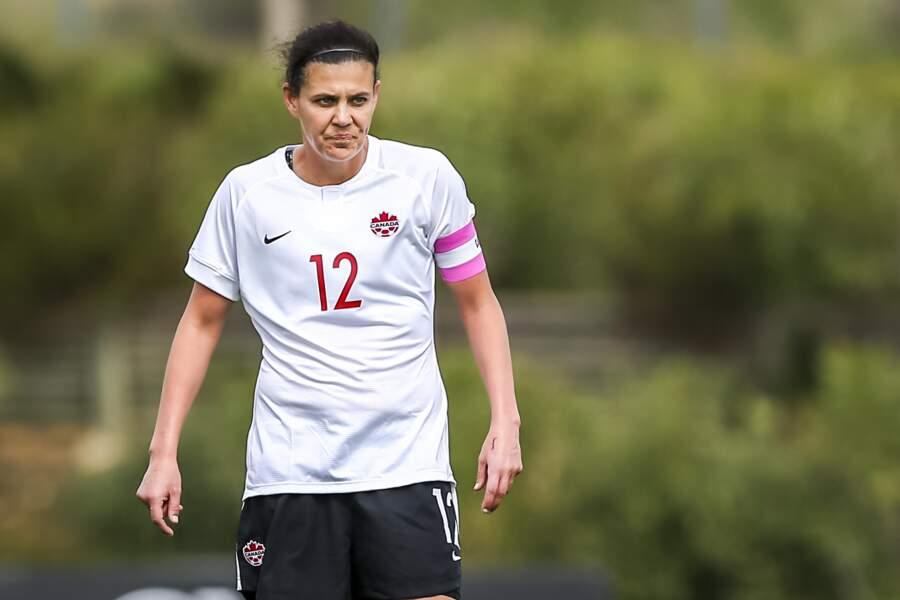 Avec le Canada, Christine Sinclair a marqué plus de 170 buts !