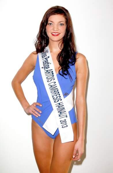 Claire Dautremee, Miss Prestige Cambresis-Hainaut 2013
