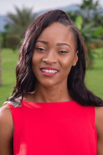 Miss Guinée Equatoriale : Silvia Adjomo