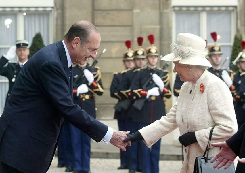 Rendre visite au président Chirac