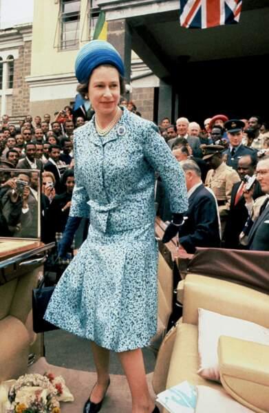 Et une petite visite officielle en Ethiopie en 1965