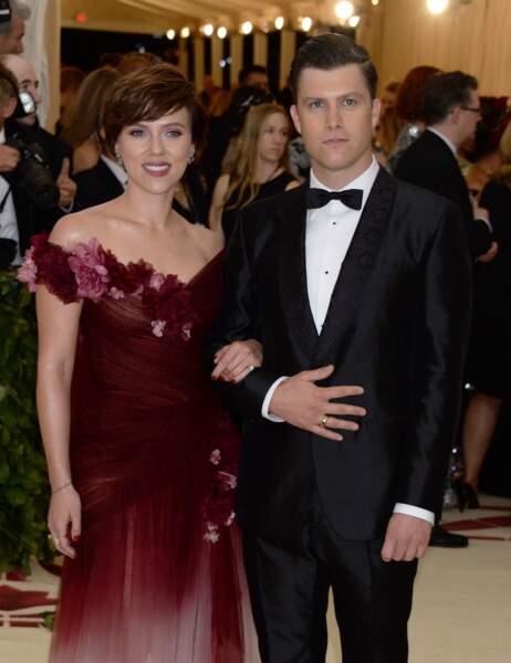 Scarlett Johansson et son chéri Colin Jost
