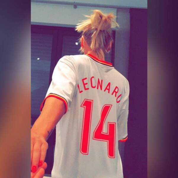 Amélie Neten a déclaré sa flamme à son chéri, le footeux belge Philippe Léonard.