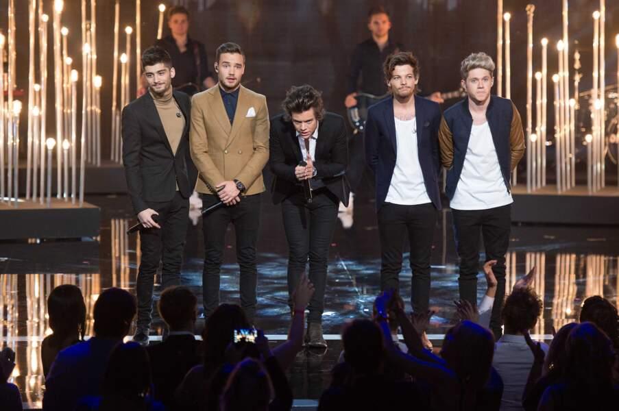 2013, les One Direction au complet