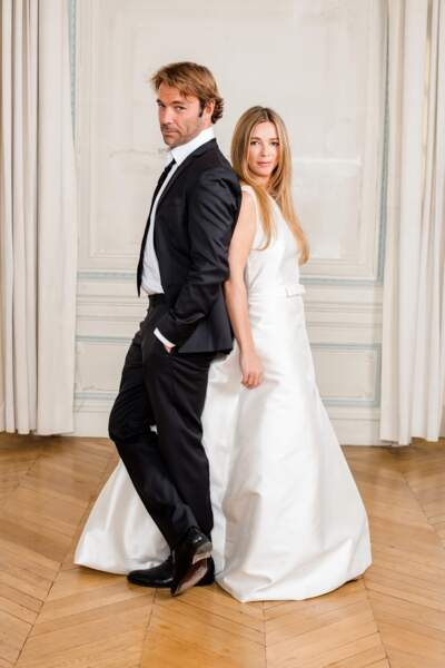 Nicolas (Patrick Puydebat) et Hélène (Hélène Rollès)