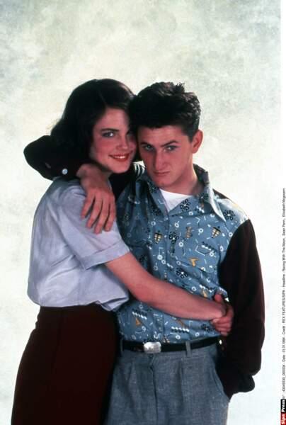 Elizabeth Mcgovern était son premier amour. Sean Penn avait 23 ans. Trop mignon !